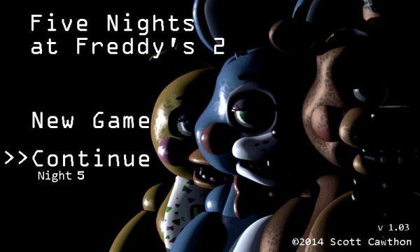 скачать five nights at freddy s 2 на андроид полная версия бесплатно
