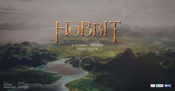 «Путешествие по Средиземью» — эксклюзивная игра для браузеров Chrome от Google