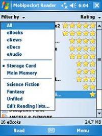 Скачать MobiPocket Reader 5 3 582 для Windows Mobile