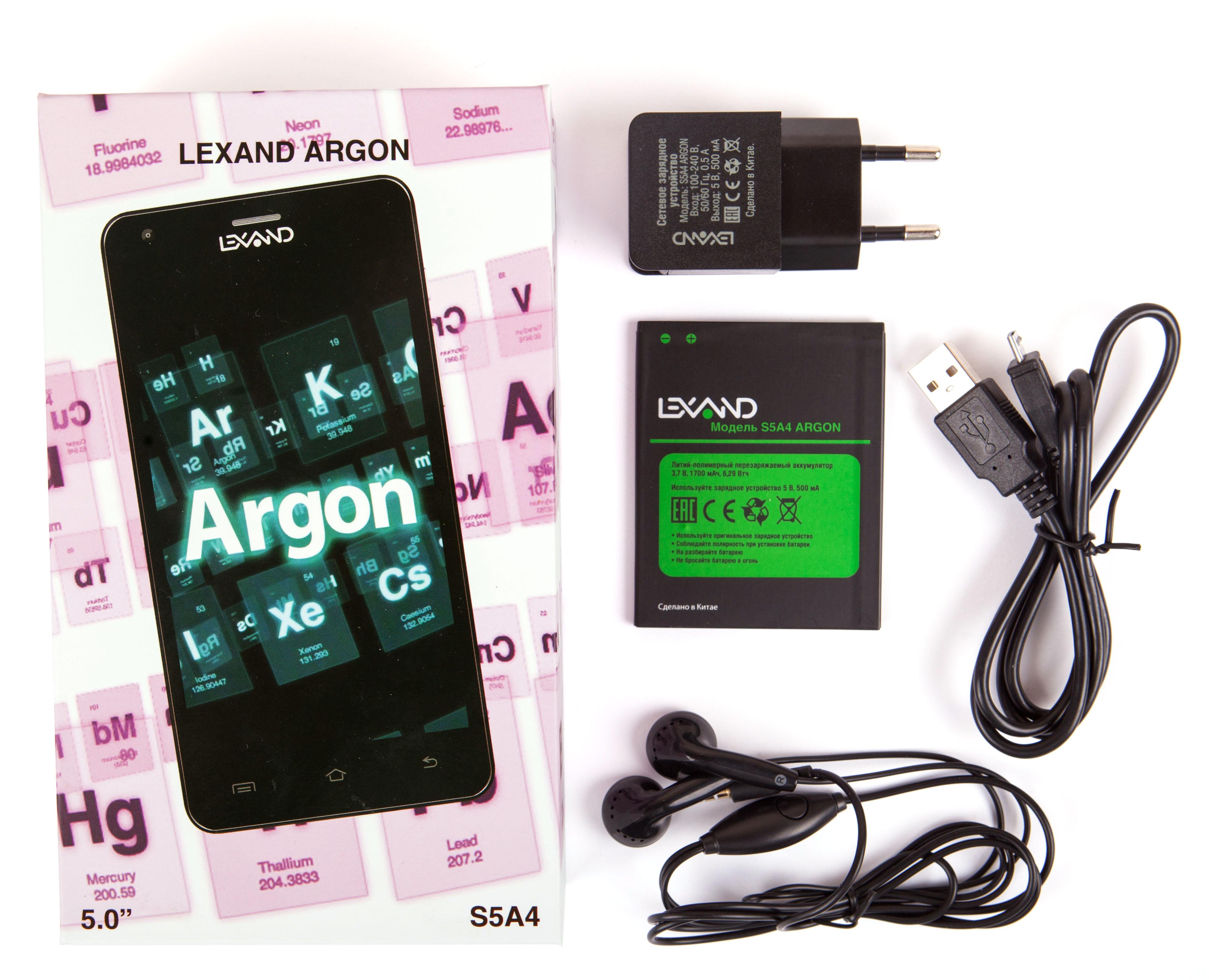Прошивка для Lexand S5a4 Argon