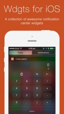 TOP виджетов для iOS