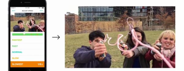 Tempo для iOS: функция таймлапс и замедления в одном видео-ролике