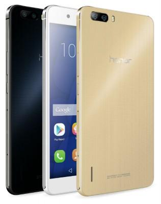 В России появился флагманский Huawei Honor 6 Plus с двойной камерой