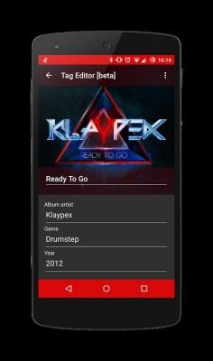 Gramophone — новый «материальный» плеер для Android