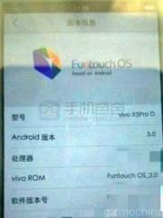 Утечка фото нового китайского флагмана Vivo X5 Pro