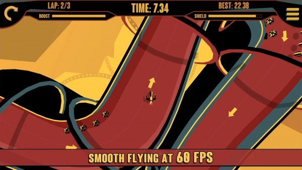 Cava Racing — аркадная гонка с хорошим графическим стилем