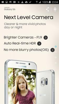 Samsung выпустила приложение-презентацию Galaxy S6 Experience