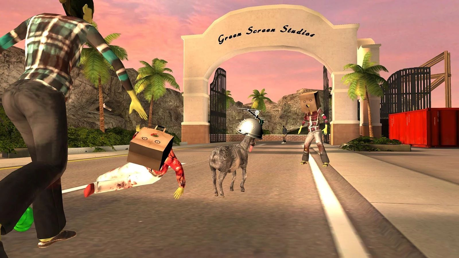 Игра симулятор козла скачать онлайн бесплатно