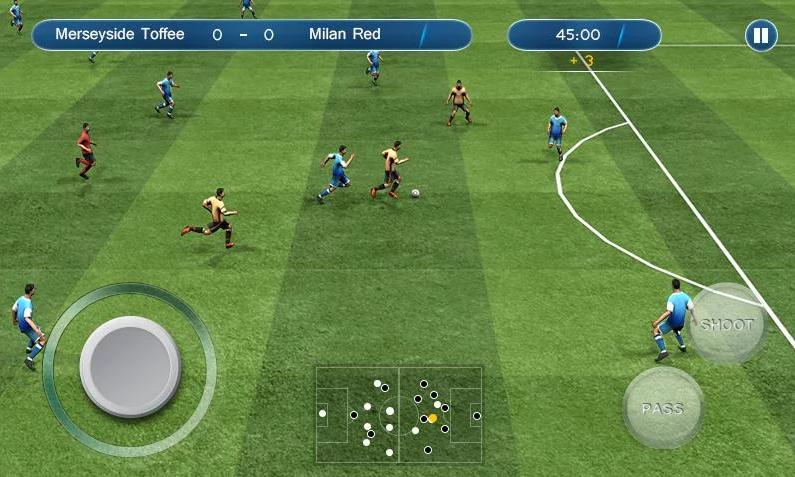 скачать игру футбол на андроид бесплатно на русском без интернета - фото 6