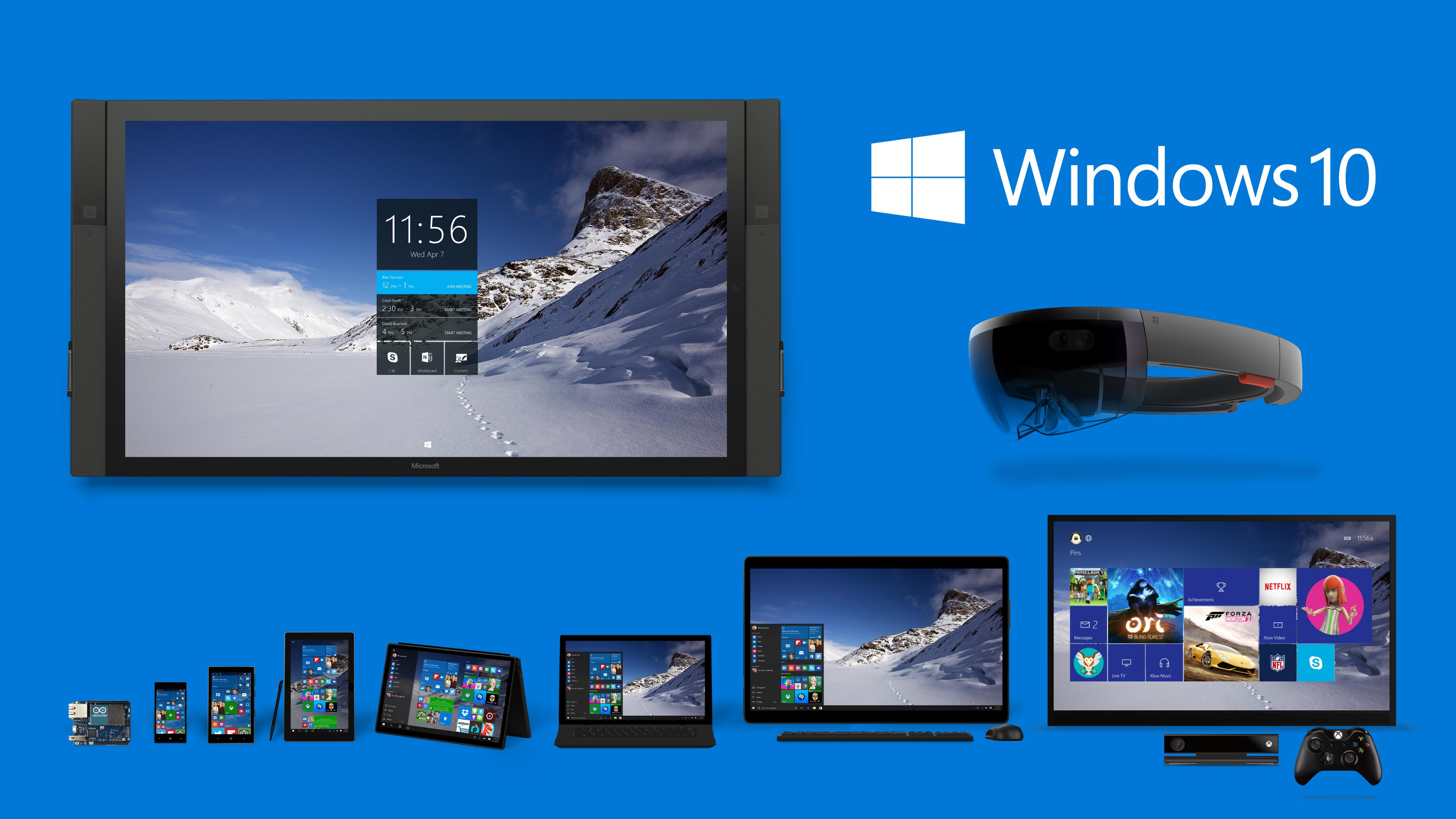 Последнюю windows 10 с официального сайта microsoft