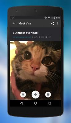 Imgur для Android стал нативным и получил свежий интерфейс