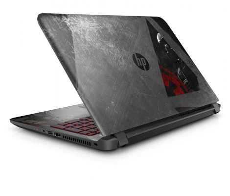 HP представила ноутбук встиле «Звездных Войн»