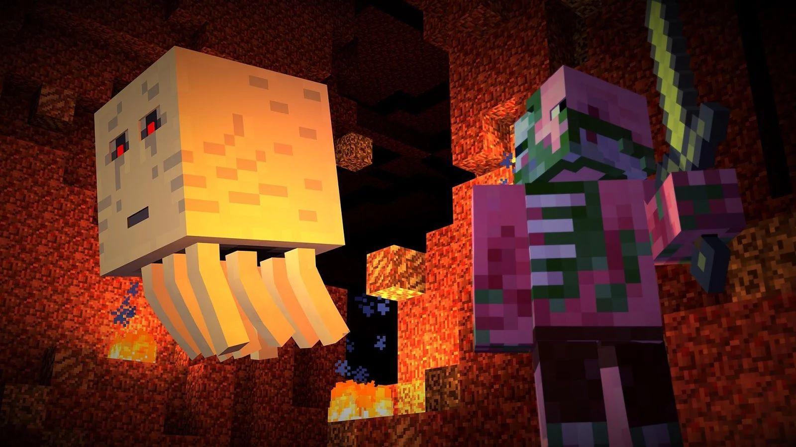 Скачать Minecraft: Story Mode [Мод ... - androeed.ru