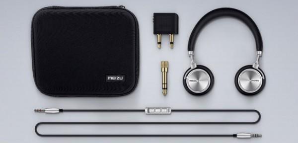 Meizu представила стильные металлические наушники