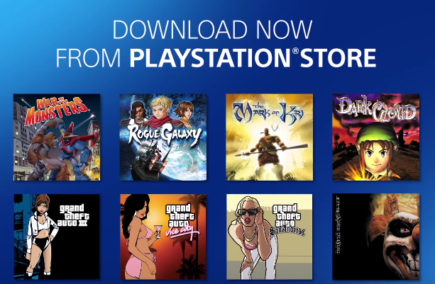 ВPlayStation Store станут доступны игры сPS 2 наPS 4