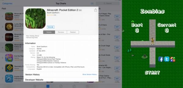 Скачать Minecraft Pocket Edition (PE) 1.2.8 - ru-m.org