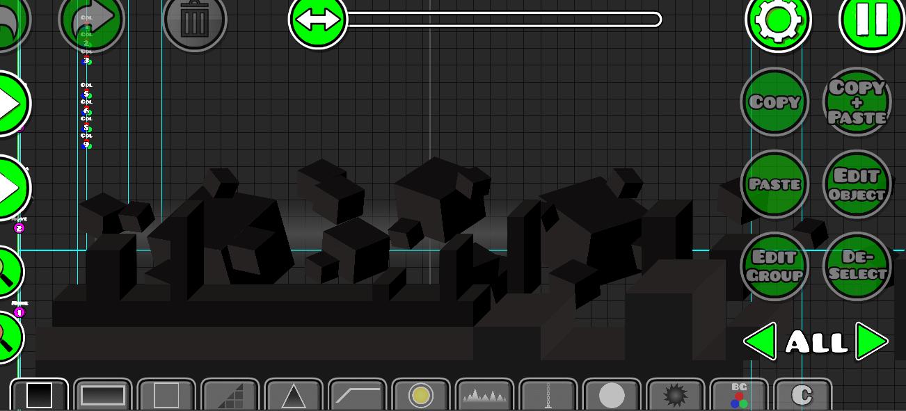 Как сделать уровни в geometry dash на андроид