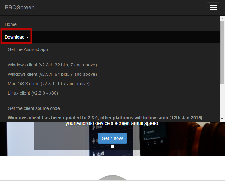 Скачать bbqscreen на компьютер windows 7