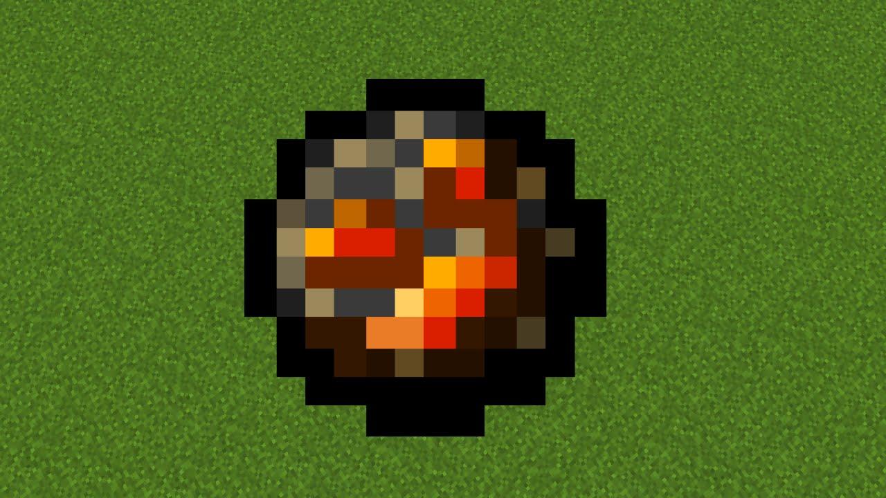 картинки огненный шар из майнкрафта открытка для дочери