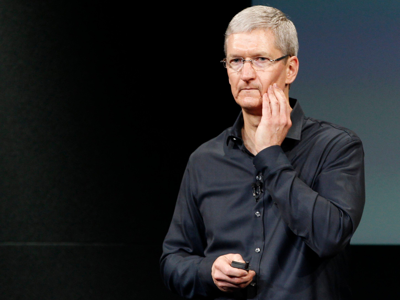 Apple впервые за13лет показала падение квартальной выручки