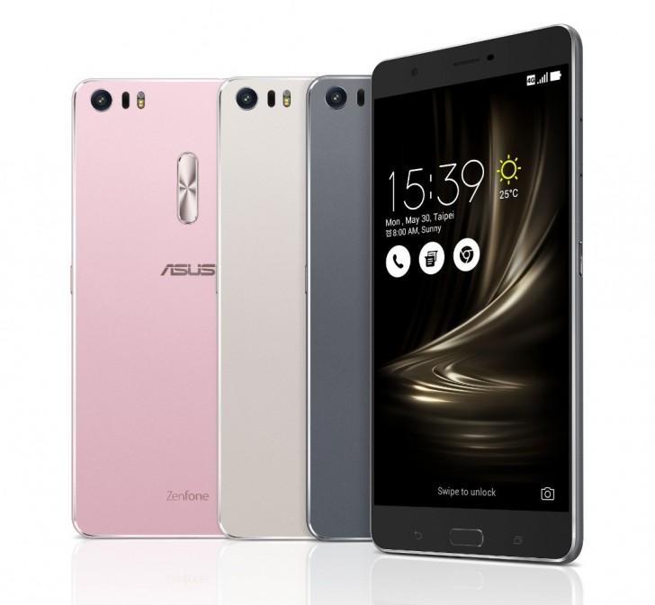 ASUS представила первый смартфон наQualcomm Snapdragon 821