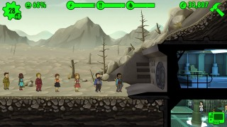 Fallout shelter 1.6 на русском