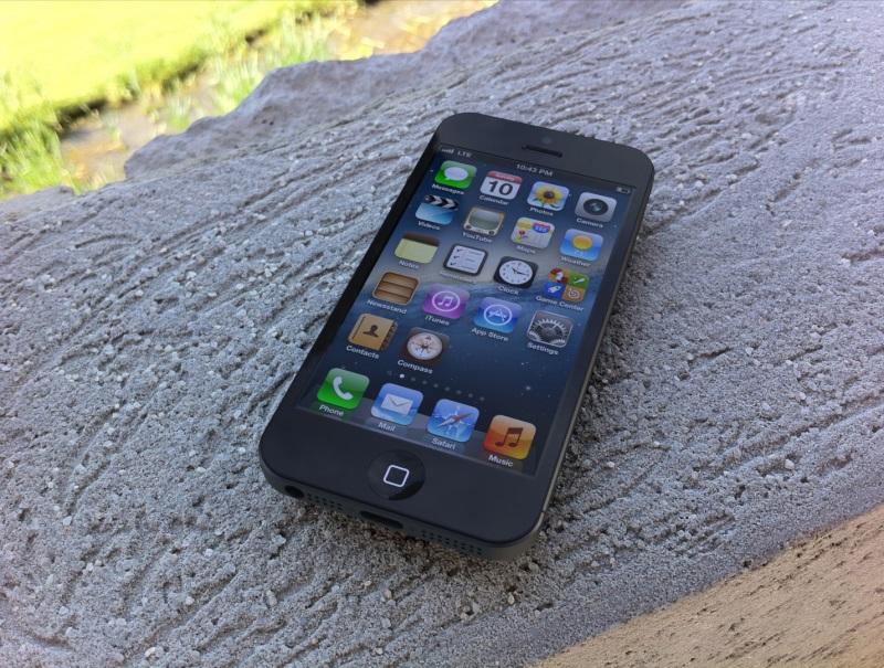 айфон 5 как на нем показывает видео