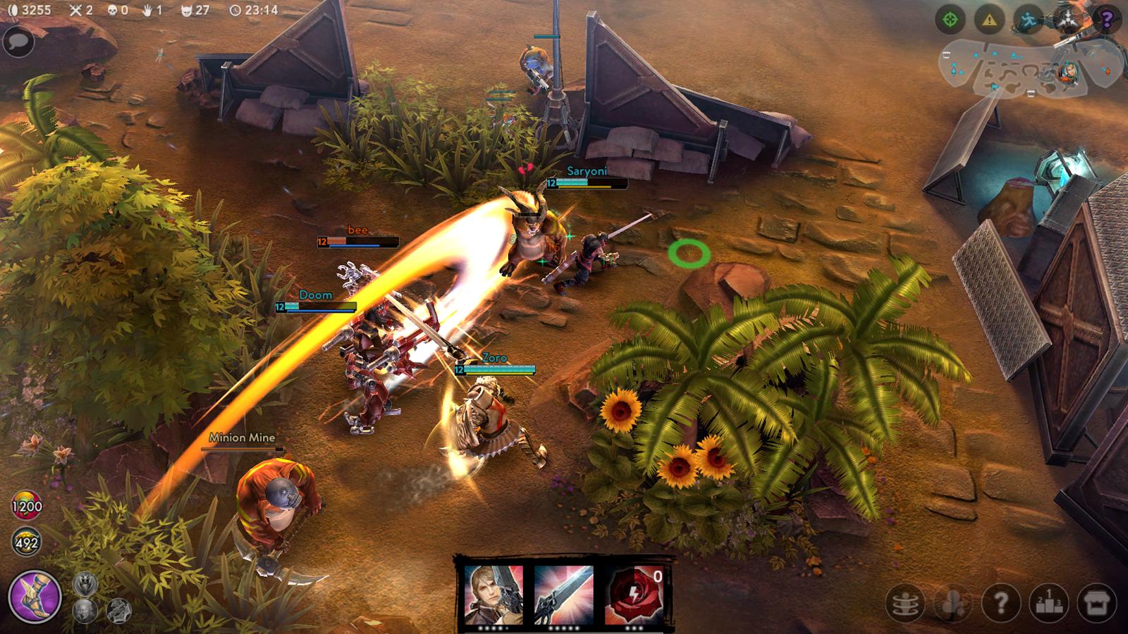 Heroes of order and chaos онлайн игра похожая на dota.
