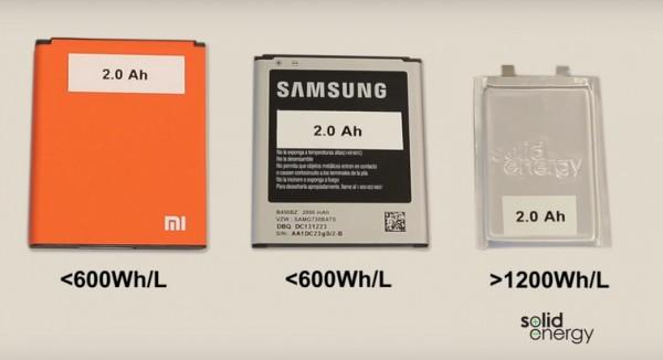 Литий-металлические батареи удвоят время работы смартфонов