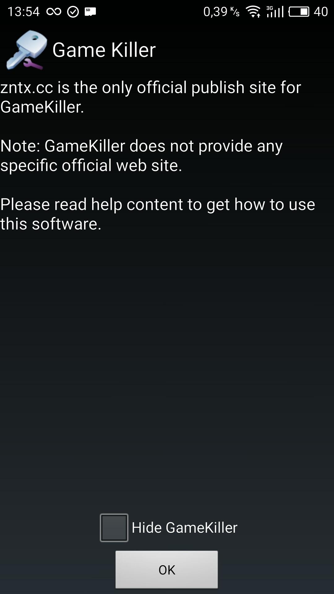 скачать последнюю версию game killer