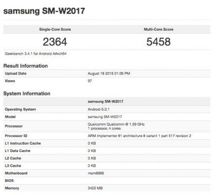 Samsung выпустит раскладушку смощной начинкой