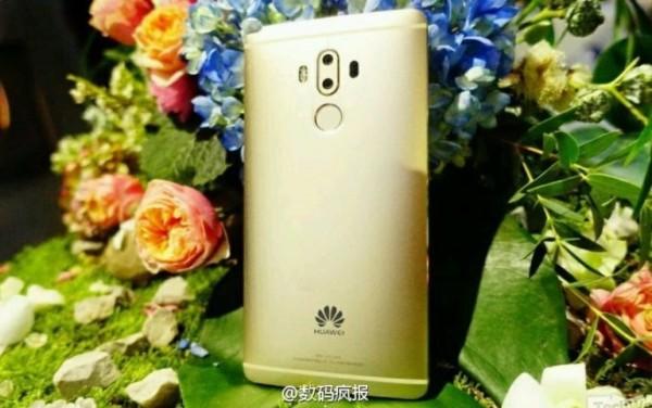 В сети появились фотографии Huawei Mate 9