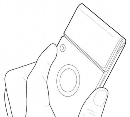 Новый патент Samsung демонстрирует сгибаемый смартфон