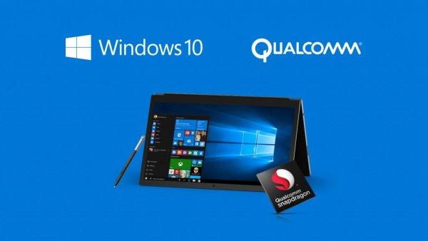 Windows 10 сможет работать напроцессорах Qualcomm