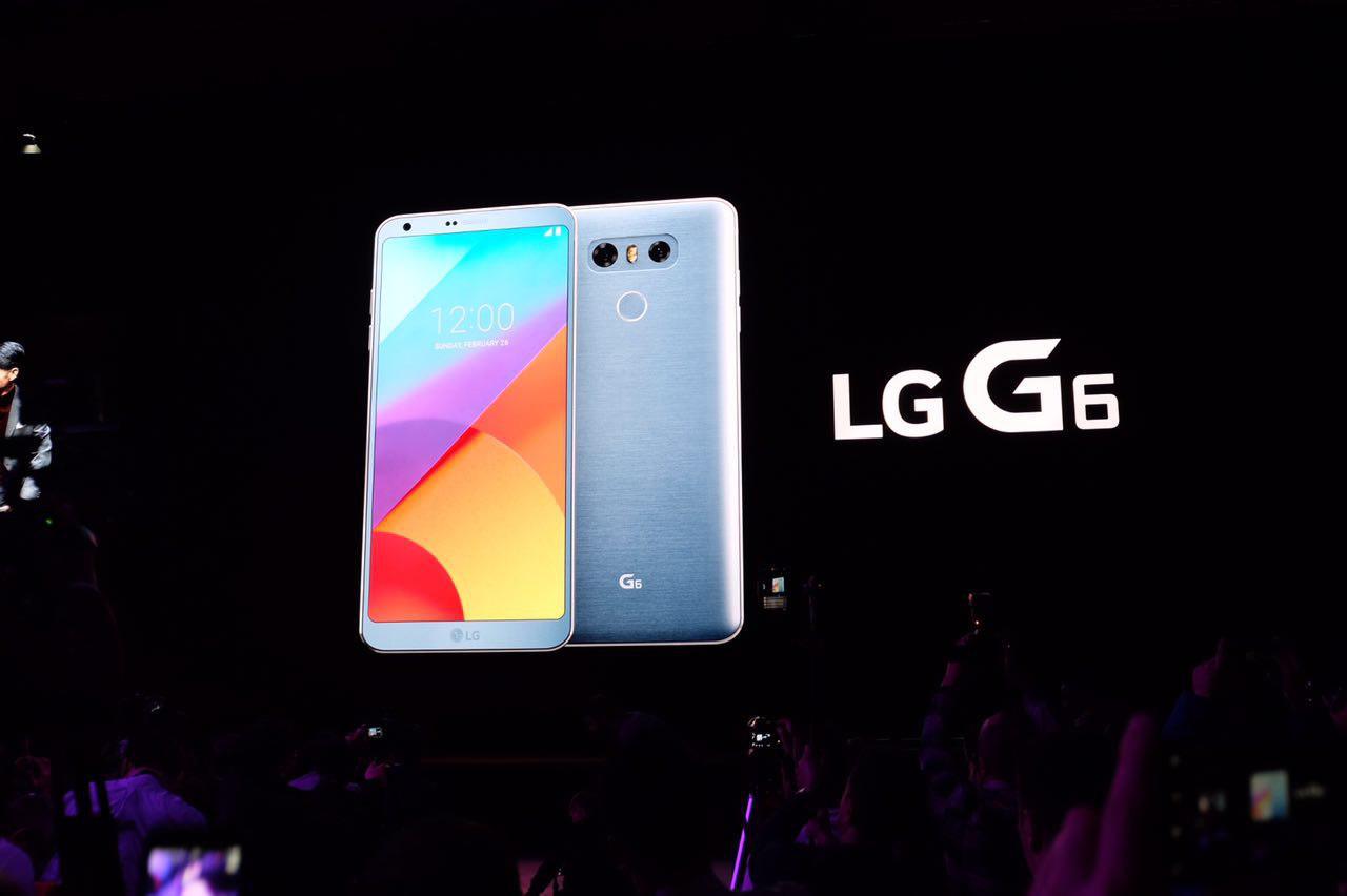 Представлен LG G6— флагман сневероятным дисплеем