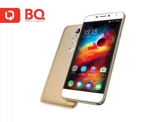 Российская BQ-mobile показала бюджетный смартфон сбольшой батареей