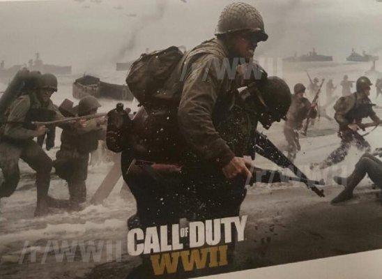 Слух: следующая Call of Duty будет про Вторую мировую войну
