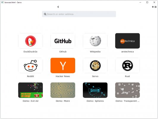 Экспериментальный браузер Mozilla Servo доступен дляWindows