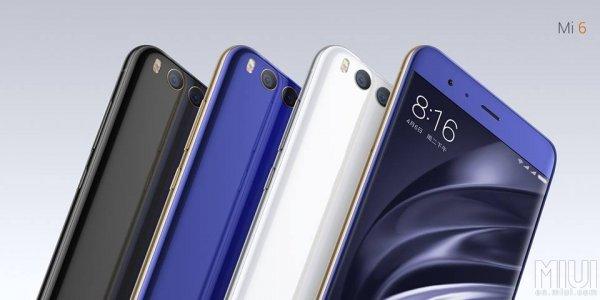Представлен Xiaomi Mi6— стильный флагман безразъема длянаушников