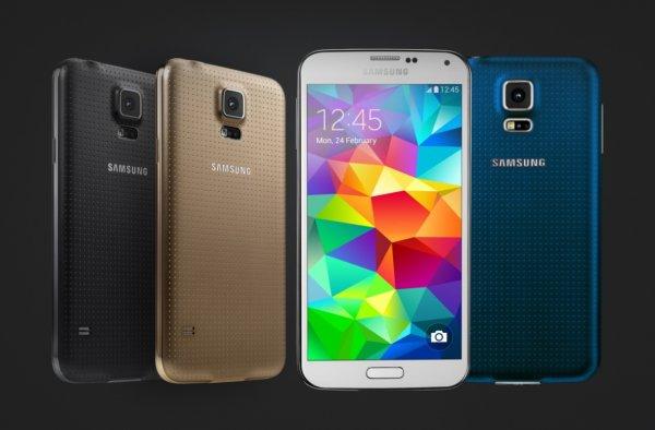 Galaxy S5 остается самым популярным смартфоном Samsung вСША