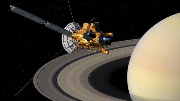 Межпланетный аппарат «Кассини» отправляется всвой последний путь