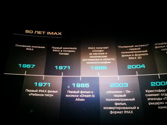 IMAX Media Day 2017: итоги иперспективы