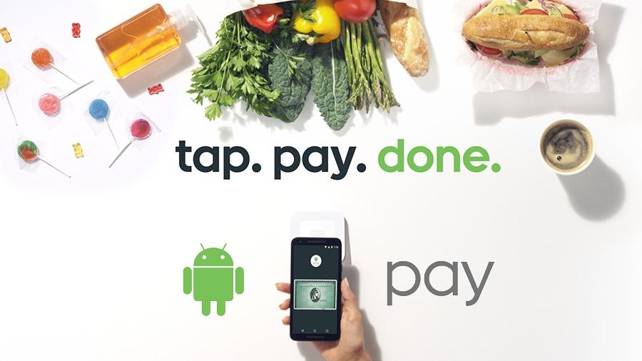 Платежная система Android Pay должна появиться вРоссии 16мая