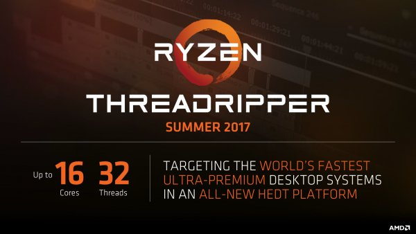 AMD анонсировала первый вмире 16-ядерный процессор дляПК