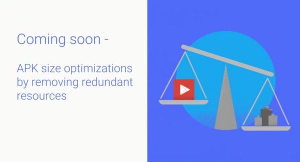 Google оптимизирует размер APK