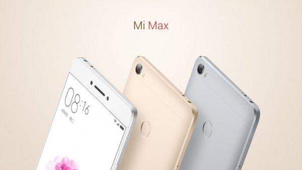 Фаблет Xiaomi Mi Max2 получит батарею на5000мАч