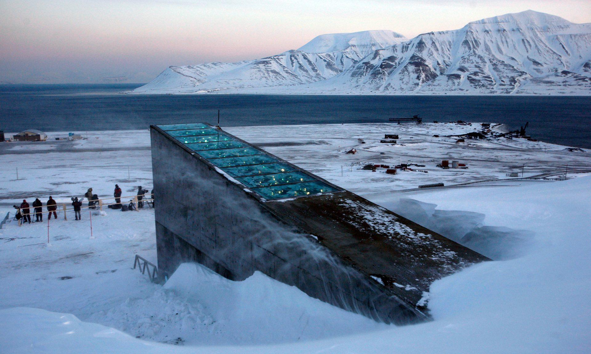 Высокая температура вызвала потоп в«хранилище судного дня» вНорвегии
