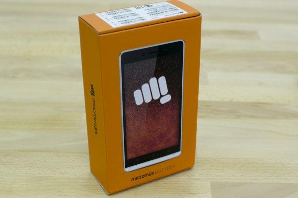 Смартфон Micromax Q354 черный 5