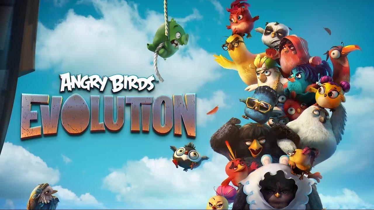 Студия Rovio выпустила новейшую версию игры Angry Birds Evolution