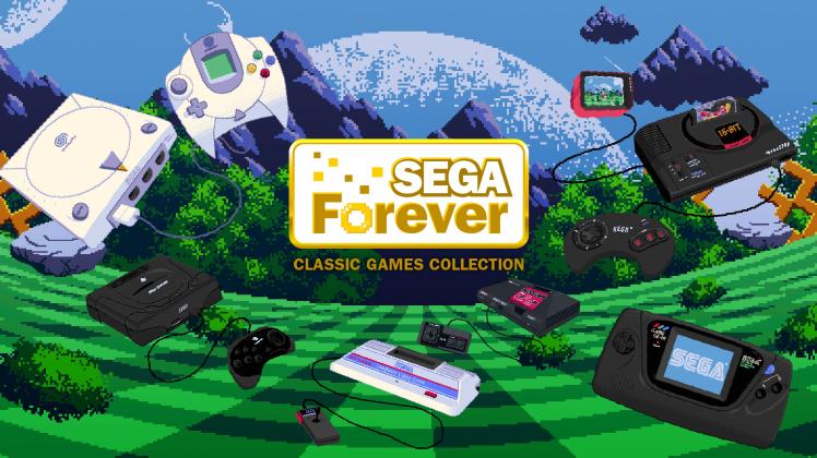 Sega запускает коллекцию традиционных игр для платформ iOS и андроид